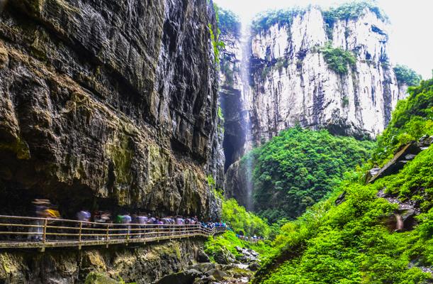 武隆仙女山天生三桥龙水峡地缝常规二日游