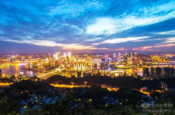 重庆南山夜景一日游