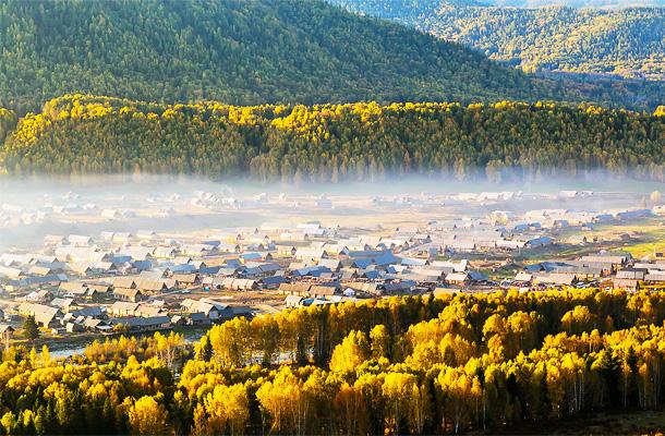 【天牧喀纳斯】新疆、喀纳斯、禾木、天山天池、吐鲁番纯玩双飞8日游