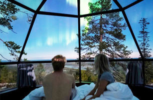 CA瑞典+芬兰+北极圈9日游(斯德往返,罗斯托玻璃屋)
