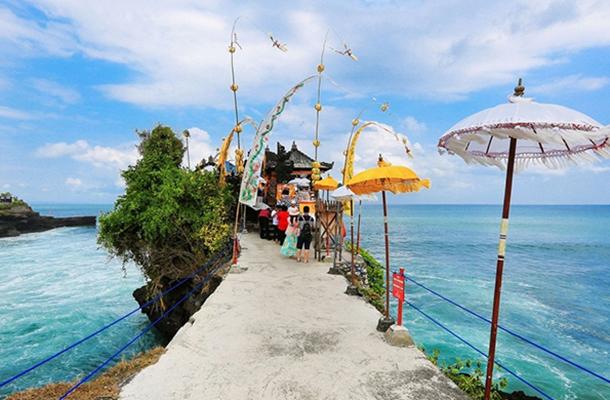 【天空之門+大秋千+漂浮下午茶】巴厘島雙飛7日游(2晚五星溫德姆)