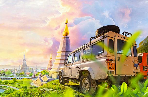 泰国清迈自由行6天5晚游