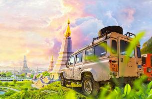 泰國清邁自由行6天5晚游