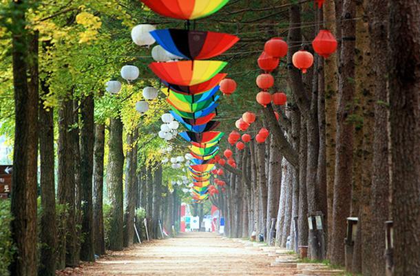 韩国首尔、南怡岛、天空步道4+3半自由行休闲7日游