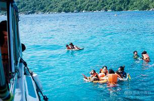 【0自费+2个半天自由活动】泰国普吉岛、斯米兰双飞6日游