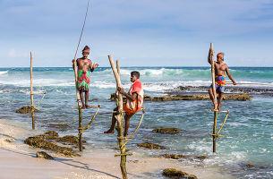 【高跷渔夫+海上小火车】斯里兰卡双飞7日游