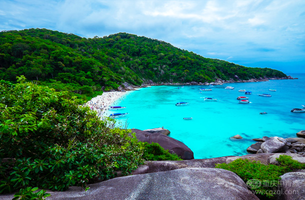 【五星酒店】泰國普吉島+斯米蘭雙飛7天5晚游