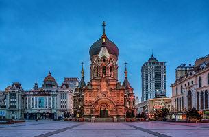 哈尔滨、漠河、北红村、北极村双飞6日游