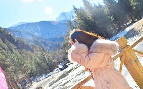 四川畢棚溝,秋風和雪景,你想要的美景這里都有!